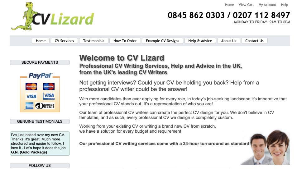 cvlizard review